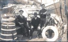 Crew of the Porthmadog Schooner ELLEN JAMES
