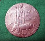 Medal / Plac Efydd er cof am William Watkin...