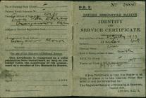 Identity and Service Certificate