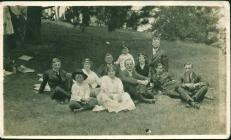 Group photograph at Golden Gate Park, San...