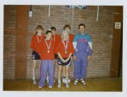 Wales Table Tennis Team under 14s