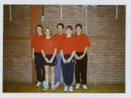 Wales Table Tennis Team under 17s