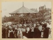 Windsor Gardens Bandstand, 1910