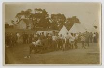 WW1 Royal Garrison Artillery Training Camp