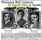 St. David's Day, Seattle 1907