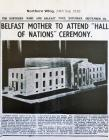 Belfast Mother to Attend Hall of Nations Ceremony