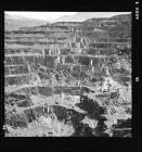 The galleries at Penrhyn Quarry