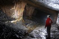 Underground at Dinas Silica Mine