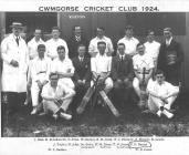 Cwmgorse Cricket Club 1924