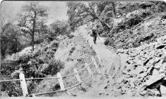 New Tredegar landslip.1908