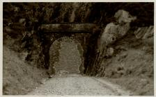 Cambrian Railways, Concreted Tunnel.
