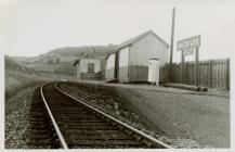 Cambrian Railways, Knucklas Halt.