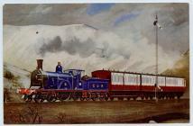 Cambrian Postcard, C.R. Single No 123.