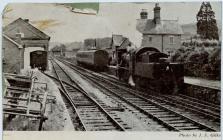 Cambrian Railways, Llanfyllin Station.