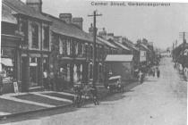 Gwaun-cae-gurwen, Carmel Street - looking north
