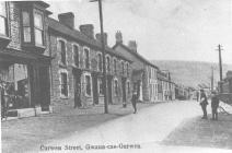 Gwaun-cae-gurwen, Curwen Street