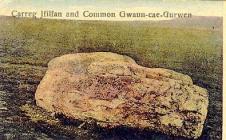 Carreg Silfaen  and the Common, Gwaun-cae-gurwen