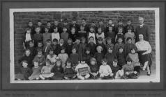 Garnant Council School, Std 1 - 1921