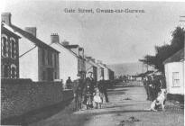 Gwaun-cae-gurwen, Gate Street - looking north.