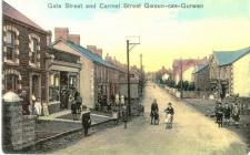 Gwaun-cae-gurwen, Gate Street and Carmel Street