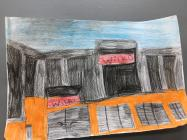 Sketch of Wilkos at Holyhead