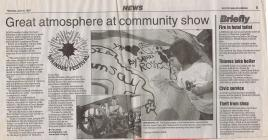 News article, Maindee Festival - the early days
