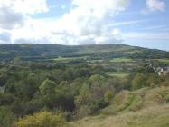 Gwaun-cae-gurwen, Looking west at Mynydd y Betws