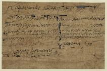 Papyri Oxyrhynchus o gyfnod y Rhufeiniaid