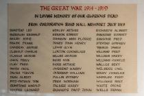 The dead of the Great War