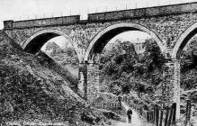 Gwaun-cae-gurwen, the Viaduct