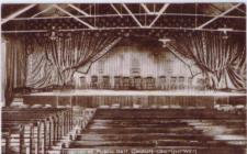Interior of the original Public Hall