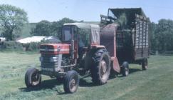 36 Lundell forage harvester, Pantyrhuad 1968