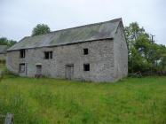Barn next to Llandeilo Graban Church,...