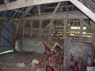Rhun Barn Interior, Painscastle, Radnorshire 2011