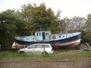 Boat, Oakford, Ceredigion 2012