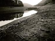 BUILDING FOUNDATIONS at Pengarreg Reservoir,...