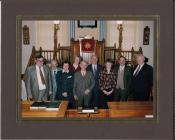Gathering at Seion chapel, Cilcennin, 1993