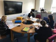 Students Group Discussion
