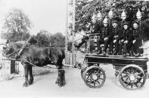 Horse Drawn Fire Engine.