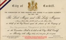 Invitation to Coronation Ball From the Lord...