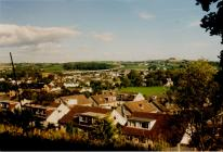 Cowbridge from Bowman's Well.