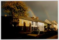 Double Rainbow over Westgate Street, Cowbridge