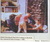 Robert Downing and Paul Grist Working on the...