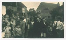 Coronation Party at Scout Hall, Dinas Powys
