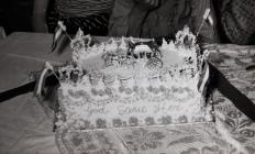 Queen Elizabeth II Coronation Party Cake