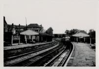 View of Penarth Station Looking North