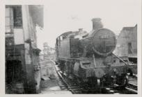 Steam Train by Signal Box at West End of...