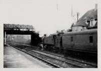 Steam Train at Penarth Station