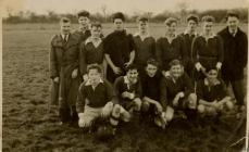 Swan Stars Football Team in 1953.