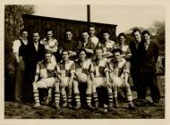 Swan Stars Football Team in 1956